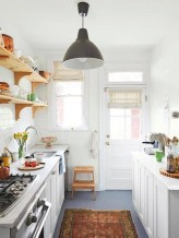 Unusual White Kitchen Design Ideas To Try 25