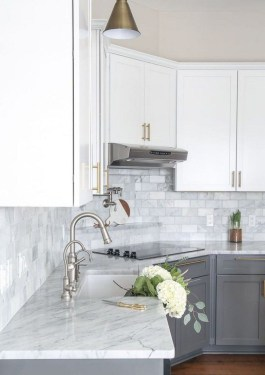Unusual White Kitchen Design Ideas To Try 33