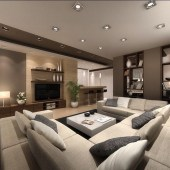 Attractive Small Living Room Decor Ideas With Perfect Lighting 29