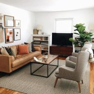 Attractive Small Living Room Decor Ideas With Perfect Lighting 41