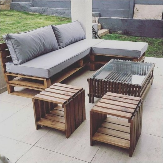Casual Diy Pallet Furniture Ideas You Can Build By Yourself 33