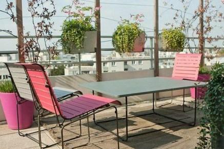 Casual Small Balcony Design Ideas For Spring This Season 06