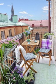 Casual Small Balcony Design Ideas For Spring This Season 11