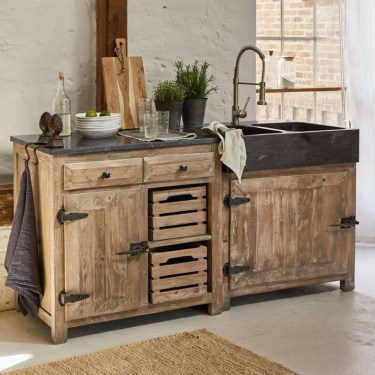 Chic Diy Projects Pallet Kitchen Design Ideas To Try 06