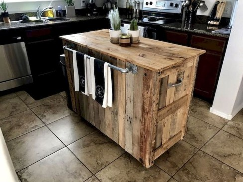 Chic Diy Projects Pallet Kitchen Design Ideas To Try 26
