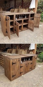 Chic Diy Projects Pallet Kitchen Design Ideas To Try 42