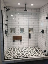 Chic Farmhouse Bathroom Desgn Ideas With Shower 16
