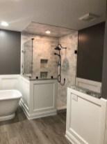 Chic Farmhouse Bathroom Desgn Ideas With Shower 30
