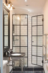 Chic Farmhouse Bathroom Desgn Ideas With Shower 31
