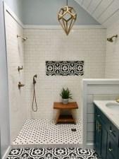 Chic Farmhouse Bathroom Desgn Ideas With Shower 41