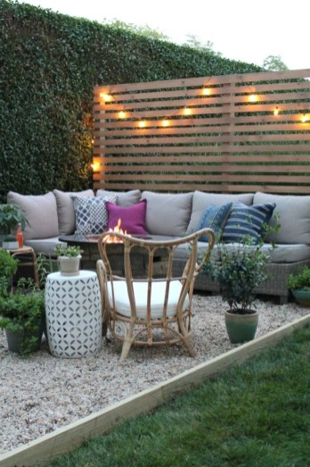 Classy Backyard Makeovers Ideas On A Budget To Try 12