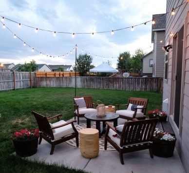 Classy Backyard Makeovers Ideas On A Budget To Try 22