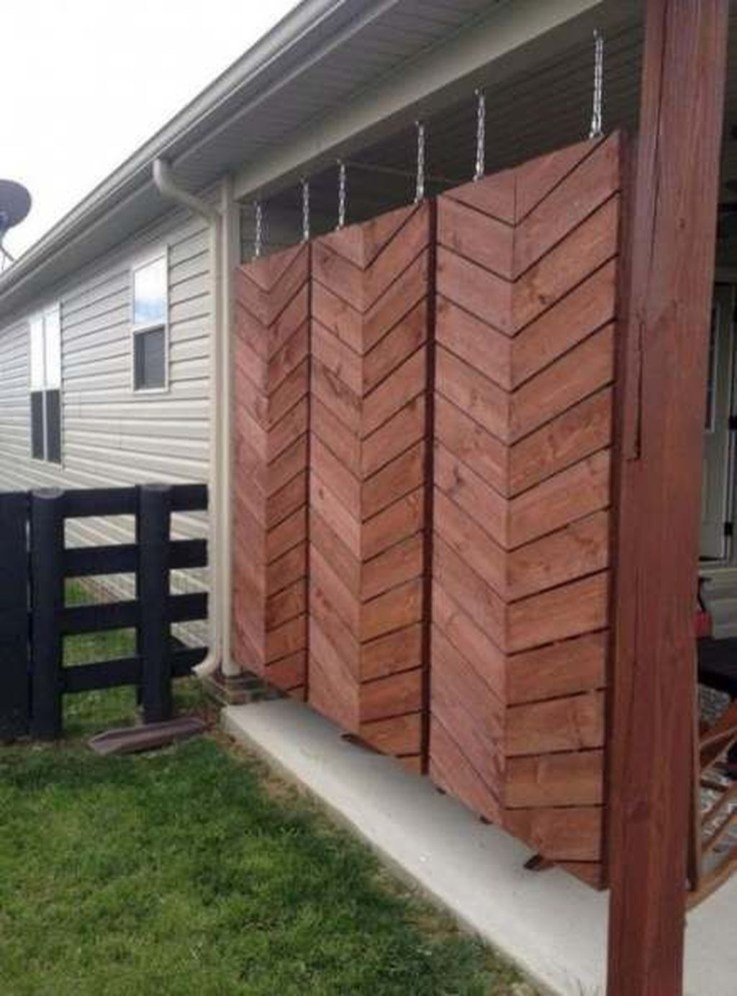 Dreamy Bamboo Fence Ideas For Small Houses To Try 24