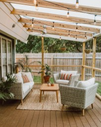 Elegant Backyard Patio Design Ideas For Your Garden 18