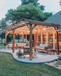Elegant Backyard Patio Design Ideas For Your Garden 43