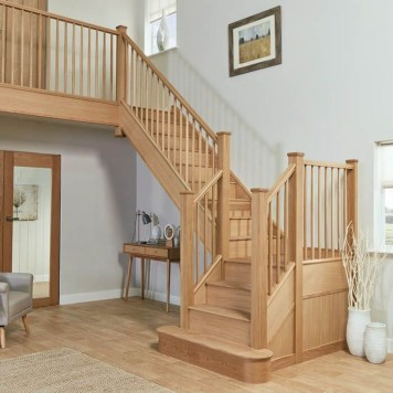 Gorgeous Wooden Staircase Design Ideas For Branching Out 15