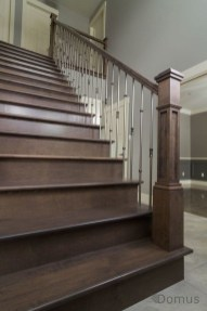 Gorgeous Wooden Staircase Design Ideas For Branching Out 30