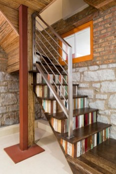 Gorgeous Wooden Staircase Design Ideas For Branching Out 48