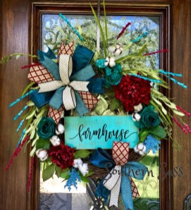 Hottest Summer Wreath Design And Remodel Ideas 20