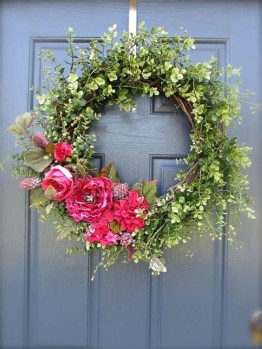 Hottest Summer Wreath Design And Remodel Ideas 27