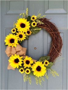 Hottest Summer Wreath Design And Remodel Ideas 45