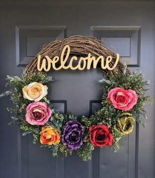 Hottest Summer Wreath Design And Remodel Ideas 53