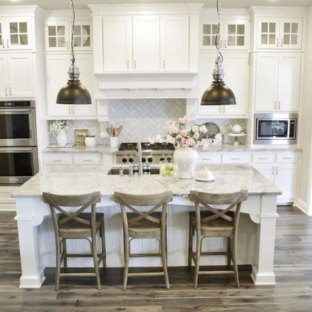 Latest Farmhouse Kitchen Décor Ideas On A Budget 24