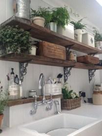 Latest Farmhouse Kitchen Décor Ideas On A Budget 37