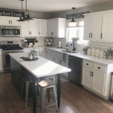 Latest Farmhouse Kitchen Décor Ideas On A Budget 49