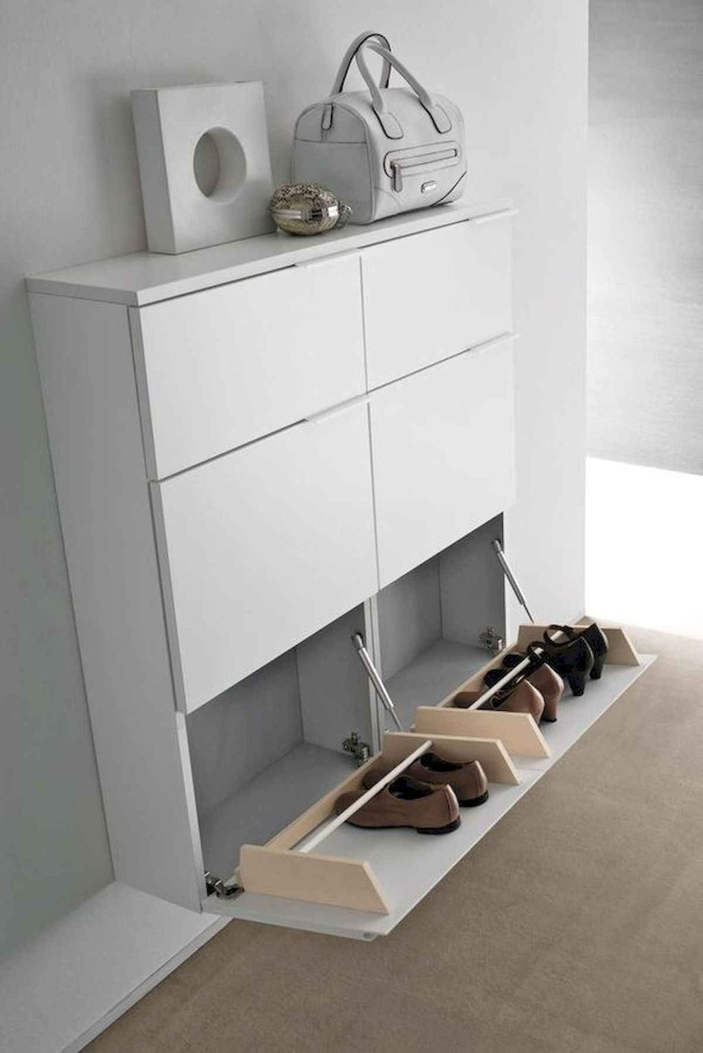 Latest Shoes Rack Design Ideas To Try 05