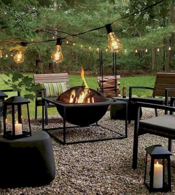 Newest Backyard Fire Pit Design Ideas That Looks Great 19