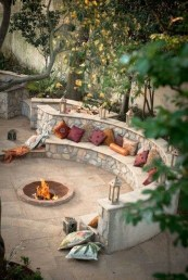 Newest Backyard Fire Pit Design Ideas That Looks Great 29