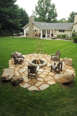 Newest Backyard Fire Pit Design Ideas That Looks Great 34