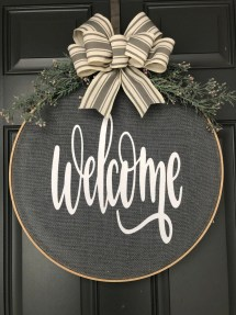 Newest Front Door Wreath Decor Ideas For Summer 01