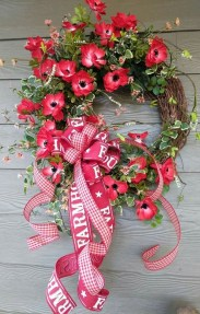 Newest Front Door Wreath Decor Ideas For Summer 03