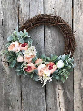 Newest Front Door Wreath Decor Ideas For Summer 16