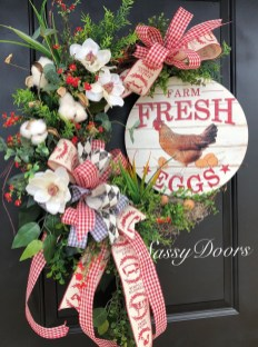 Newest Front Door Wreath Decor Ideas For Summer 23