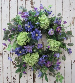 Newest Front Door Wreath Decor Ideas For Summer 31