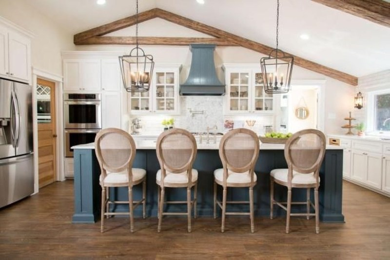 Trendy Fixer Upper Farmhouse Kitchen Design Ideas 28