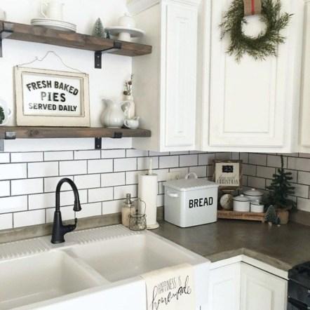 Trendy Fixer Upper Farmhouse Kitchen Design Ideas 39