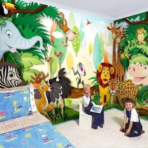 Adorable Disney Room Design Ideas For Your Childrens Room 11