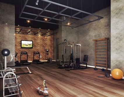 Astonishing Home Gym Room Design Ideas For Your Family 27