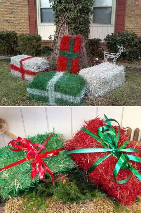 Charming Outdoor Décor Ideas For Christmas To Try 47