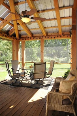Comfy Porch Design Ideas To Try 38