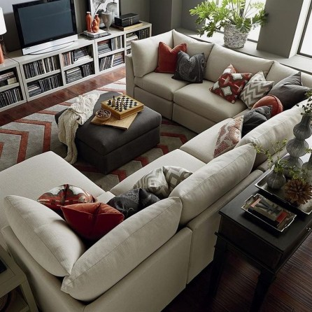 Elegant Large Living Room Layout Ideas For Elegant Look 13