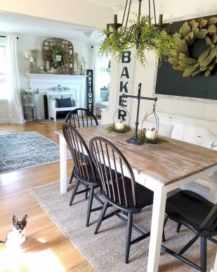 Oustanding Diy Decor Ideas To Upgrade Your Dining Room 07