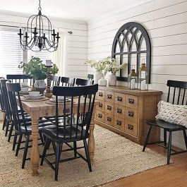 Oustanding Diy Decor Ideas To Upgrade Your Dining Room 39