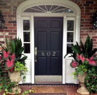Perfect Porch Planter Design Idseas That Will Give Your Exterior A Unique Look 15