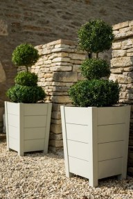 Perfect Porch Planter Design Idseas That Will Give Your Exterior A Unique Look 17