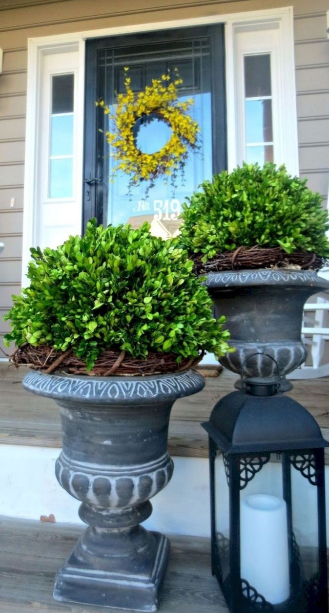 Perfect Porch Planter Design Idseas That Will Give Your Exterior A Unique Look 23